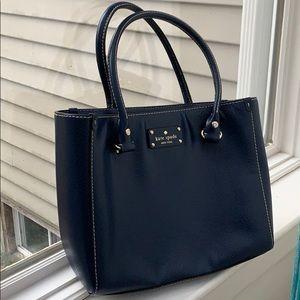 Designer Bag, Navy Kate Spade Women's Handbag